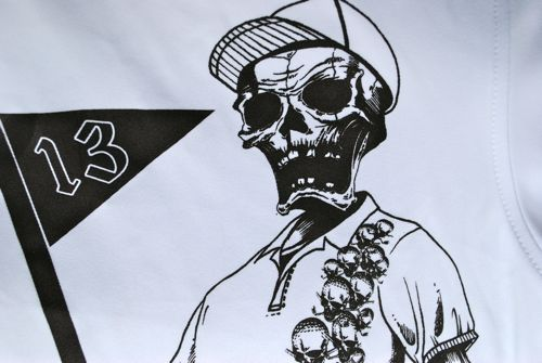 Tattoo Golf Bones Shirt