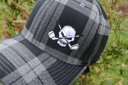 Tattoo Golf Tartan Hat